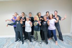 Our members took a two day class to learn to teach Tai Chi for Balance